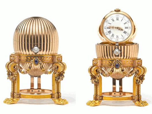 Rare Gold Fabergé Egg found in America's Mid-West