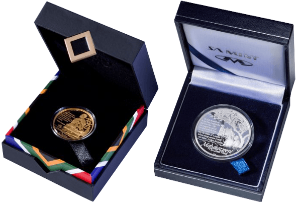 The South African Mint Company honours the life and times of Nelson Mandela