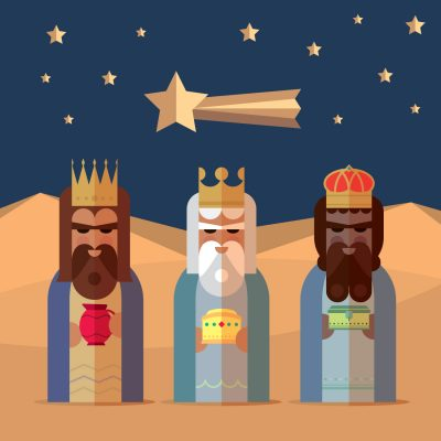 Gift of Giving – Three Wise Men