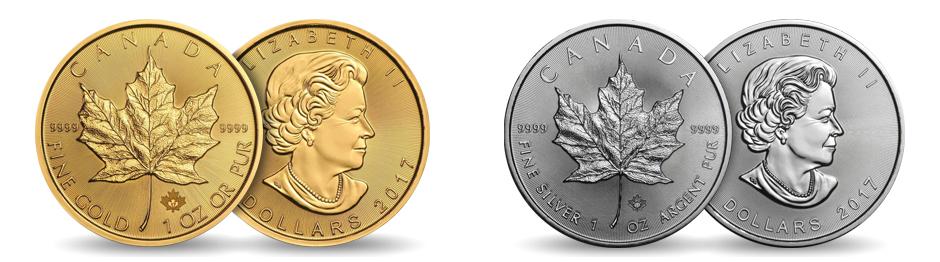 Bullion Coins – The Canadian Maple Leaf