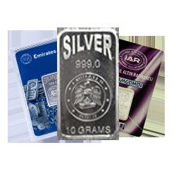 10g Silver Bars