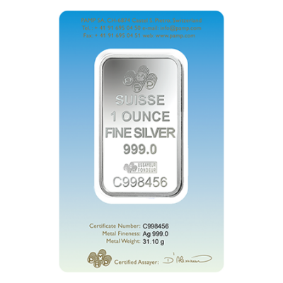 PAMP Faith Series Silver Bars