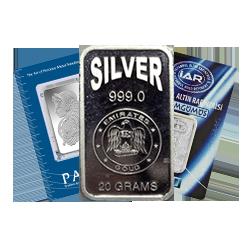 20g Silver Bars