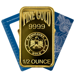 Half Ounce Gold Bars