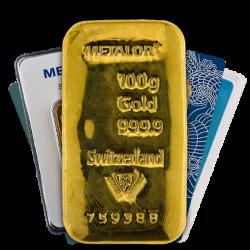 100g Gold Bars