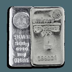 500g Silver Bars