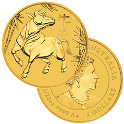1/20 Ounce Gold Coins