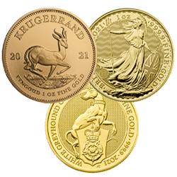 1 Ounce Gold Coins