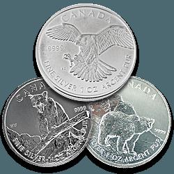 Silver Canadian Wildlife Series