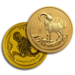 Gold Perth Mint Lunar Series II