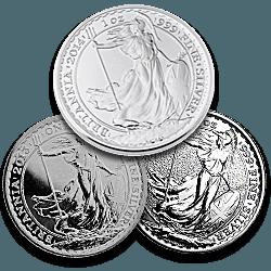 Silver Britannias