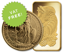 VAT Free Gold Bullion