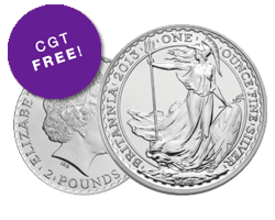 CGT Free Silver Coins