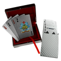 The Silver Shuffle Playing Cards