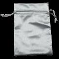 Leatherette Pouch (Silver)