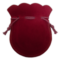 Velvet Coin Pouch (Red)
