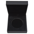 Silver 1oz Coin Display Box in Black (GI)