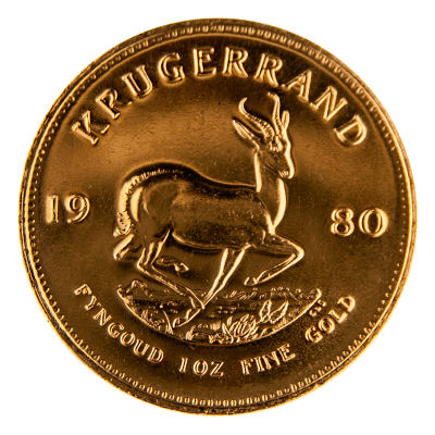 Low Price 1980 1oz Gold Krugerrand South Africa