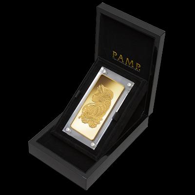 1 Kilogram Gold Bar PAMP Fortuna in Carbonite Gift Box