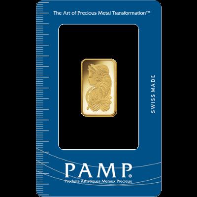 PAMP 10 Gram Lady Fortuna Gold Bar