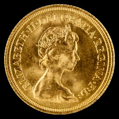 1974 1984 Full Sovereign Elizabeth Ii