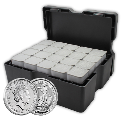 Vat Free Silver Britannia Monster Box