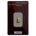 Argor-Heraeus 1 Gram Gold Bar 999.9