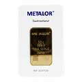 Metalor 50 gram Gold Bar 999.9