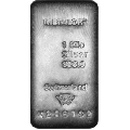 Metalor 1000 Gram Silver Cast Bar 999.0