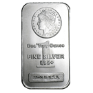 1oz Silver Trade Bar American Morgan (PO)