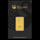 Perth Mint 10 Gram Black Certicard Gold Bar