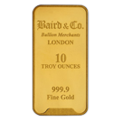 10oz Gold Bar Baird & Co