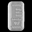Metalor 100 Gram Cast Silver Bar 999.0