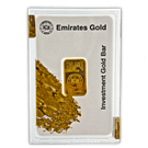 10 Gram Gold Bar Boxed Emirates Gold