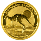 2015 1/10oz Gold Kangaroo - Perth Mint (Australia)