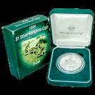 Australian Proof 1oz Silver 1999 Kangaroo $1 Coin 999.0