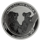 2011 1/2oz Silver 50 Cent Koala - Perth Mint (Australia)