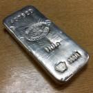 Swiss Bank Corporation 1 Kilogram Silver Bar (PO) 999.0