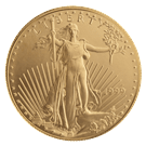 American 1 Ounce Gold Eagle Coin 916.7