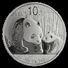 Chinese 1oz Silver Panda Coin 999.0