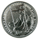 British 1 Ounce Silver Britannia Coin 2015 999.0