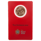 British Full Sovereign 2015 Gold Coin in Certicard
