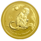 2016 Gold 1oz Lunar Monkey - Perth Mint (Australia)