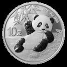 2020 30g Silver Panda (China)