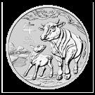 2021 1kg Lunar III Ox Silver Coin (Australia)