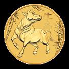 2021 2oz Lunar III Ox Gold Coin (Australia)