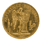 Gold 20 Francs Angel Mixed Years (France)