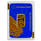 20 Gram Gold Bar Boxed Emirates Gold (PO)