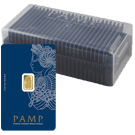 SALE: 25 x 1 Gram Gold Bars PAMP Fortuna Veriscan in Box