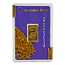 2.5 Gram Gold Bar Emirates Gold Boxed